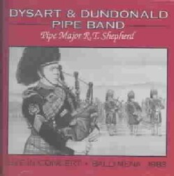 Dysart & Dundonald Pipe Band - In Concert: Ballymena 1983