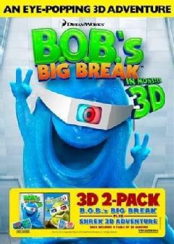 B.O.B.'s Big Break/Shrek 3D (DVD)