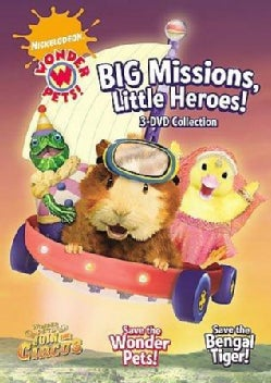 Wonder Pets: Big Missions, Little Heroes! (DVD)