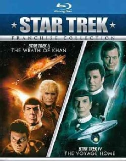 Star Trek II: The Wrath Of Khan/Star Trek IV: The Voyage Home (Blu-ray Disc)