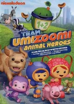 Team Umizoomi: Animal Heroes (DVD)