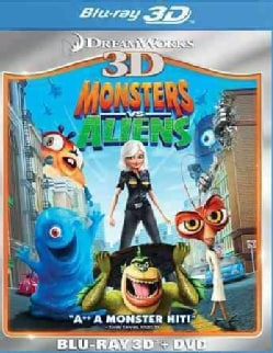 Monsters Vs. Aliens 3D (Blu-ray/DVD)