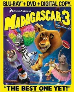 Madagascar 3: Europe's Most Wanted (Blu-ray/DVD)