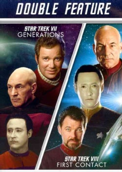 Star Trek VII: Generations/Star Trek VIII: First Contact (DVD)