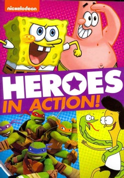 Nickelodeon: Heroes In Action! (DVD)