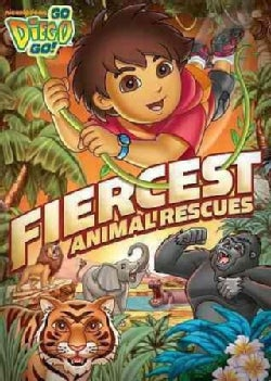 Go, Diego, Go!: Fiercest Animal Rescues! (DVD)