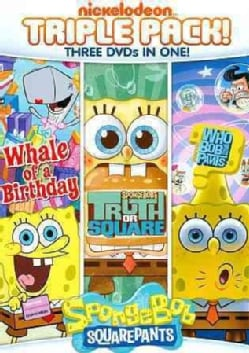 Spongebob Squarepants: Truth Or Square/Who Bob What Pants/Whale Of A Birthday (DVD)