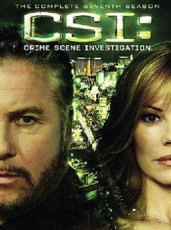 CSI: Crime Scene Investigation: Complete Seventh Season (DVD)