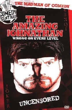 Amazing Johnathan: Wrong On Every Level (DVD)