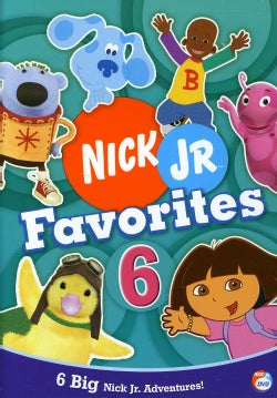 Nick Jr. Favorites 6 (DVD)
