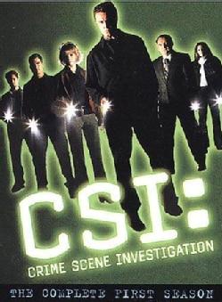 CSI: Crime Scene Investigation: Complete First Season (DVD)
