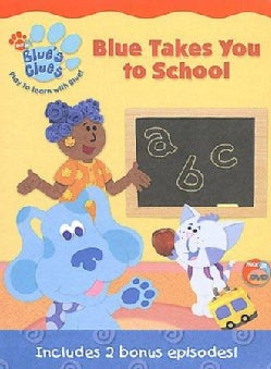Blue's Clues: Blue Takes You To School (DVD)
