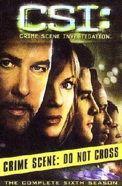 CSI: Crime Scene Investigation: Complete Sixth Season (DVD)