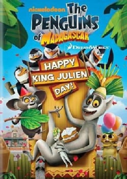 Penguins Of Madagascar: Happy King Julien Day! (DVD)