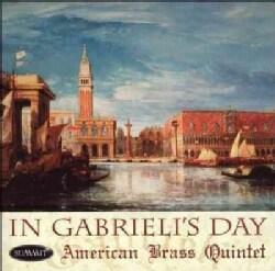 American Brass Quintet Brass Band - In Gabrieli's Day