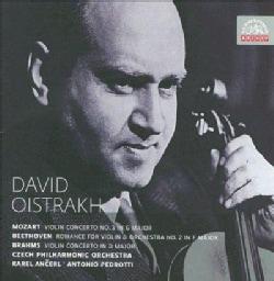 Czech Philharmonic Orchestra - Mozart/Beethoven/Brahms: David Oistrakh
