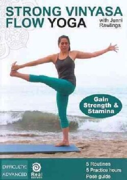 Strong Vinyasa Flow: Yoga for Strength and Stramina with Jenni Rawlings (DVD)
