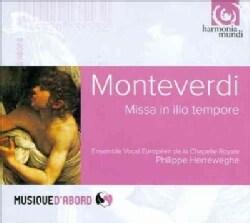 Ensemble Vocal Europeen - Monteverdi: Missa In Illo Tempore