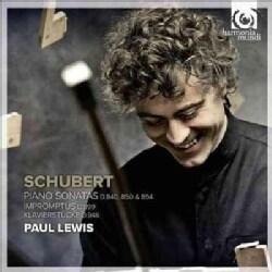 Paul Lewis - Piano Sonatas D. 840, 850 & 894, Impromptus D. 894, Klavierstucke D. 946
