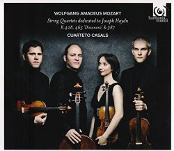 Cuarteto Casals - Mozart: String Quartets K428, 465 & 387