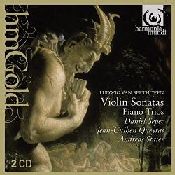 Daniel Sepec - Beethoven: Violin Sonatas Nos. 4 & 7, Piano Trios Nos. 3 & 5
