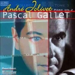 Pascal Gallet - Jolivet: Pieces Pour Piano, Vol. 2