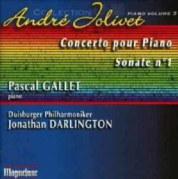 Pascal Gallet - Jolivet: Integrale Pour piano, Vol. 3