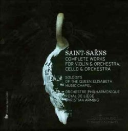 Elina Buksha - Saint-Saens: Complete Works for Violin & Orchestra, Cello & Orchestra