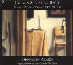 Benjamin Alard - Bach: Trip Sonatas for Organ