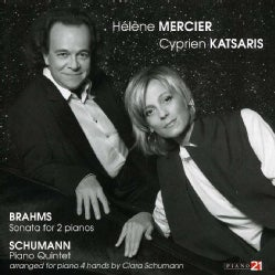 Cyprien Katsaris - Schumann: Music for Two Pianos