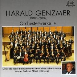 GERMAN RADIO PHIL/ALBERT - GENZMER: ORCHESTRA WORKS VOL. 4