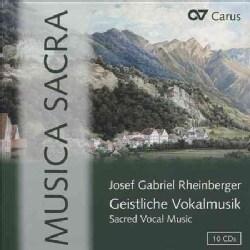 Josef Gabriel Rheinberger - Rheinberger: Sacred Vocal Music