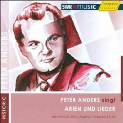 Various - Peter Anders Sings Arias and Lieder