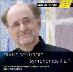 Radio-Sinfonieorchester Stuttgart Des SWR - Schubert: Symphonies 4 & 5