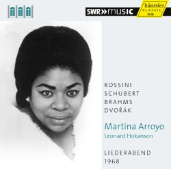 Martina Arroyo - Liederabend 1968