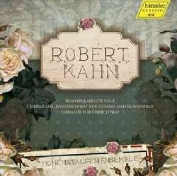Hohenstaufen Ensemble - Kahn: Chamber Music and Songs