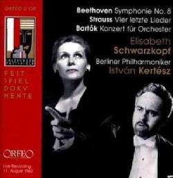 Berlin Philharmonic - Beethoven/Strauss/Bartok: Symphony No. 8/Vier Letzte Lieder/Konzert Fur Orchester (Salzburg Festival)