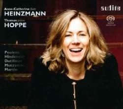Anne-Catherine Heinzmann - Poulenc/Hindemith/Dutilleux/Muczynski/Martin