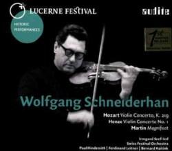 Wolfgang Schneiderhan - Lucerne Festival: Vol. X