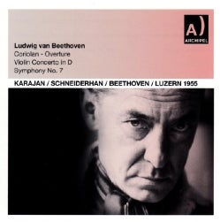 Herbert Von Karajan - Beethoven: Violin Concerto/Symphony 7