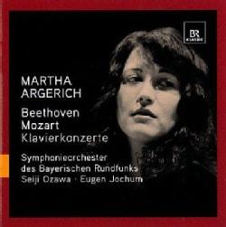 Symphonieorchester Des Bayerischen Rundfunks - Beethoven/Mozart: Martha Argerich: Piano Concerto No 1 in C Major; Piano Conce...