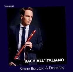 Simon Borutzki - Bach: All'Italiano