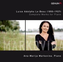 Luise Adolpha Le Beau - Le Beau: Complete Works for Piano
