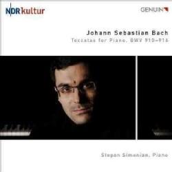 Stepan Simonian - Bach: Toccatas for Piano