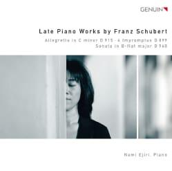 Nami Ejiri - Schubert: Late Piano Works