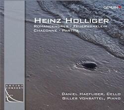 Daniel Haefliger - Holliger: Romancendres/Feuerwerklein/Chaconne/Partita
