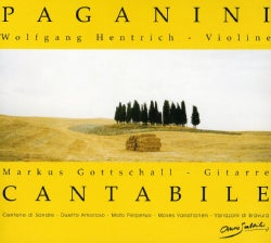 Wolfgang Hentrich - Paganini: Cantabile