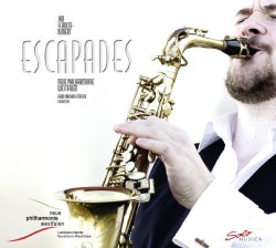 Jan Schulte-Bunert - Escapades: Music for Saxophone and Orchestra