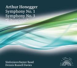 Arthur Honegger - Honegger: Symphonies Nos. 1 & 3