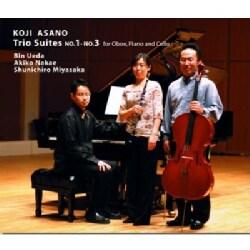 KOJI & UEDA ASANO/NAKAE/MIYASAKA - TRIO SUITES NO.1-NO.3 FOR OBOE PIANO & CELLO